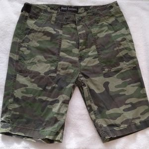 🔥5 for $25🔥Foot locker 100% cotton camo shorts